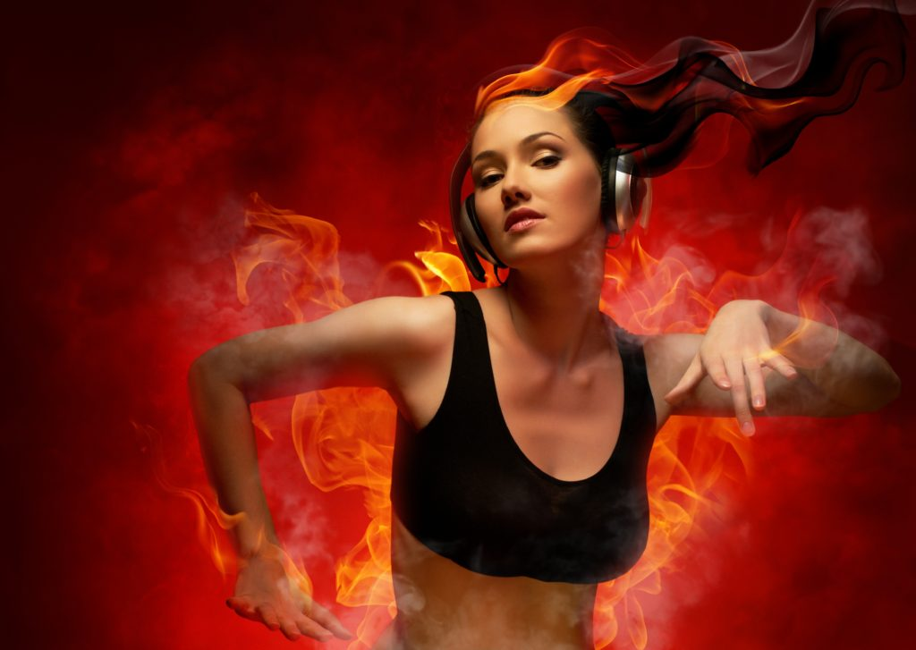 crazy-headphones-on-fire-music-DJ-photoshop-music-background